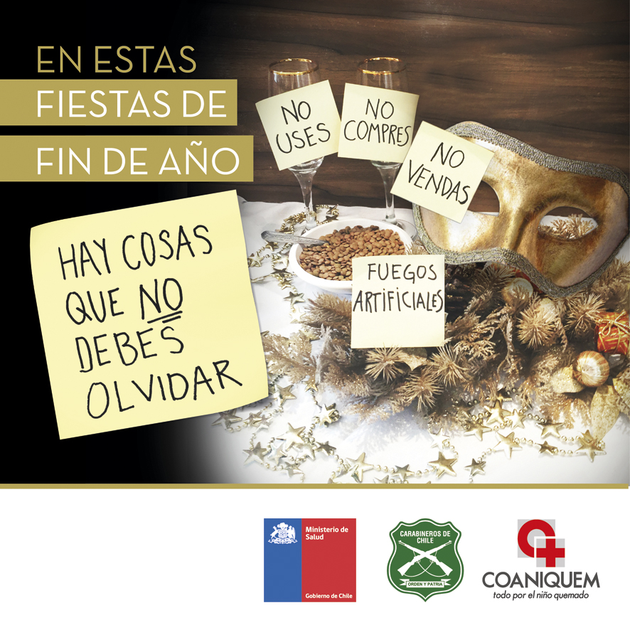 Minsal Coaniquem Y Carabineros Inician Campana Nacional Alto Al