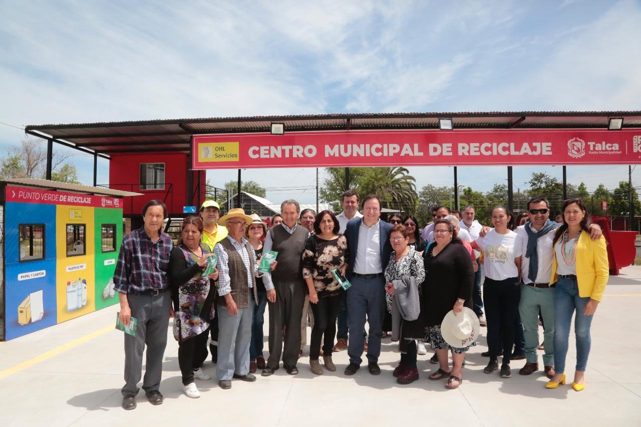 Talca abre segundo Centro Municipal de Reciclaje comunitario en sector Las Colines - Maulee.cl Diario electrónico de la Región del Maule