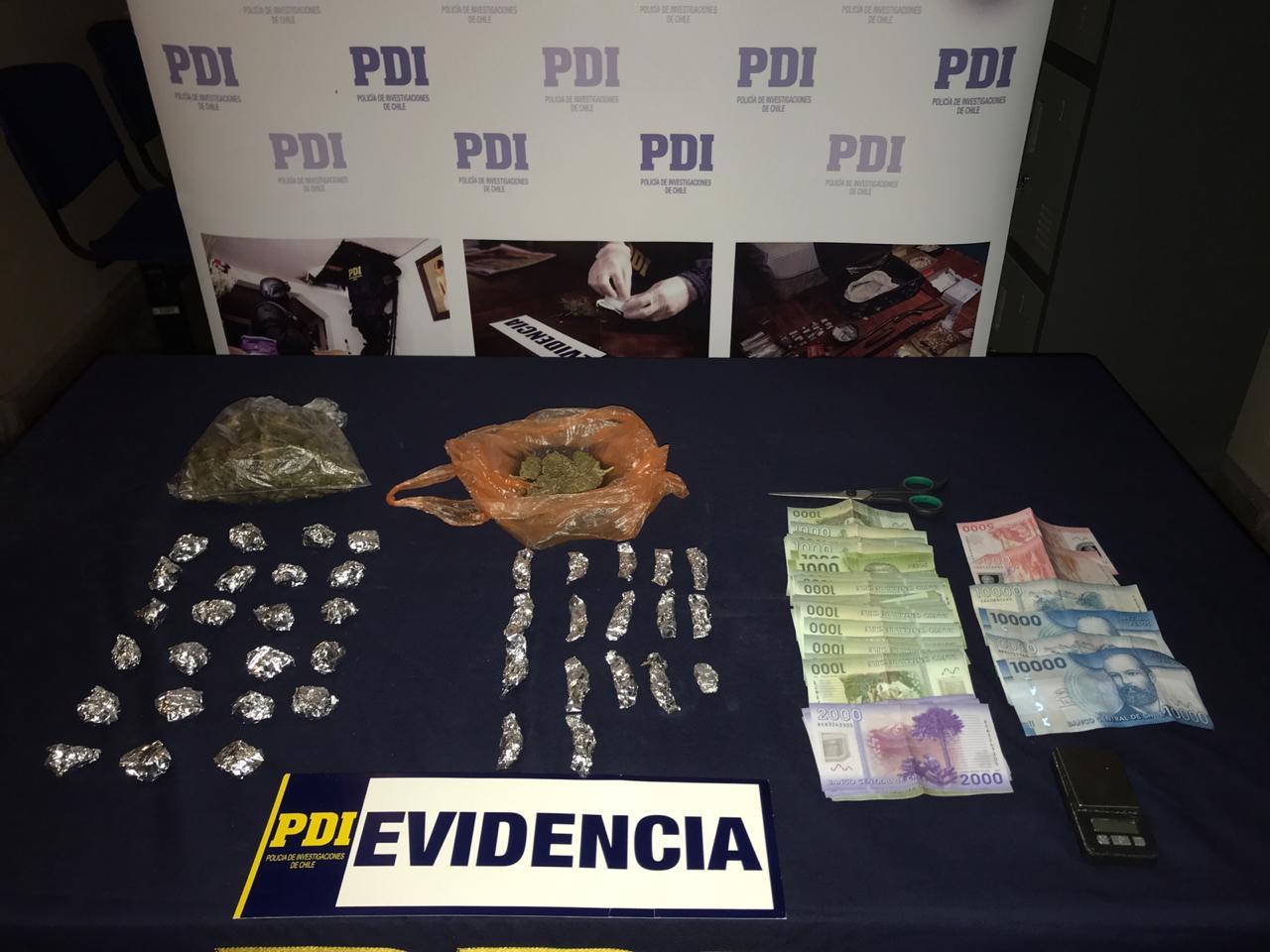 PDI detiene a clan familiar dedicado a microtráfico de drogas en Talca - Maulee.cl Diario electrónico de la Región del Maule